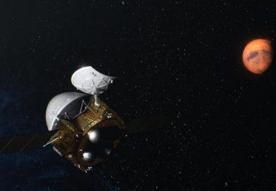 Tianwen-1 sur orbite d'attente