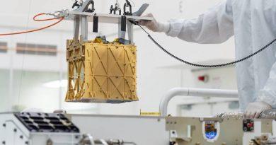 De l'oxygène produit sur Mars